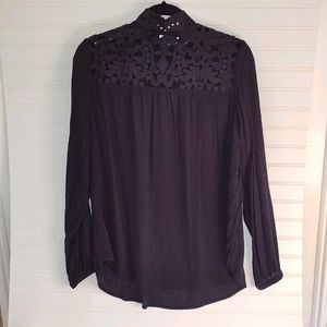 Who What Wear Victorian Style Top